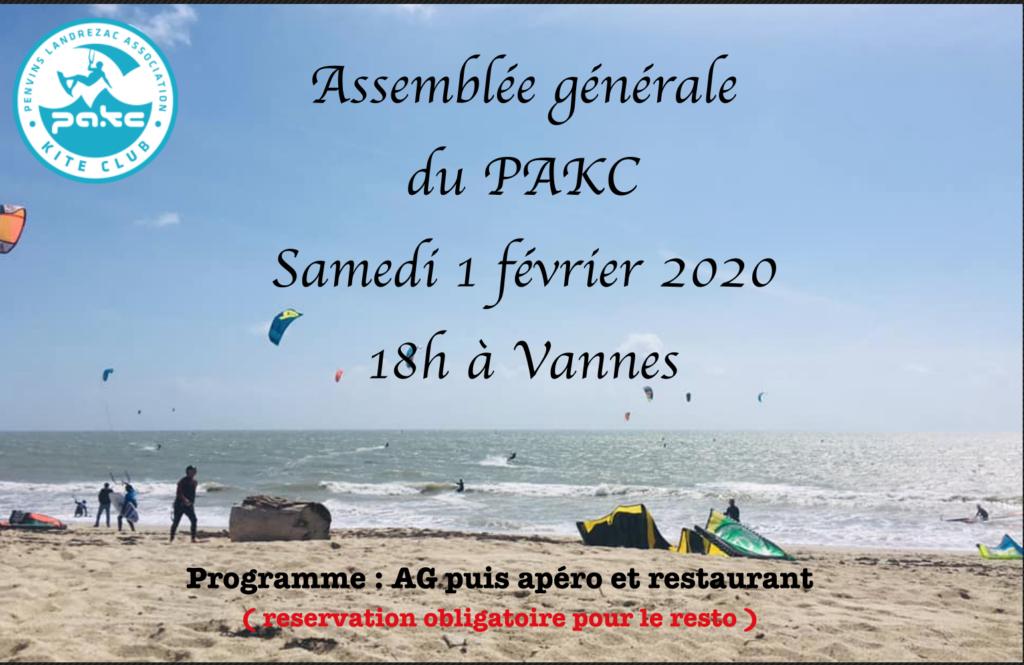 Assemblée Générale de l'association PAKC